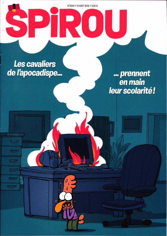 Le journal Spirou N° 4244 Août 2019