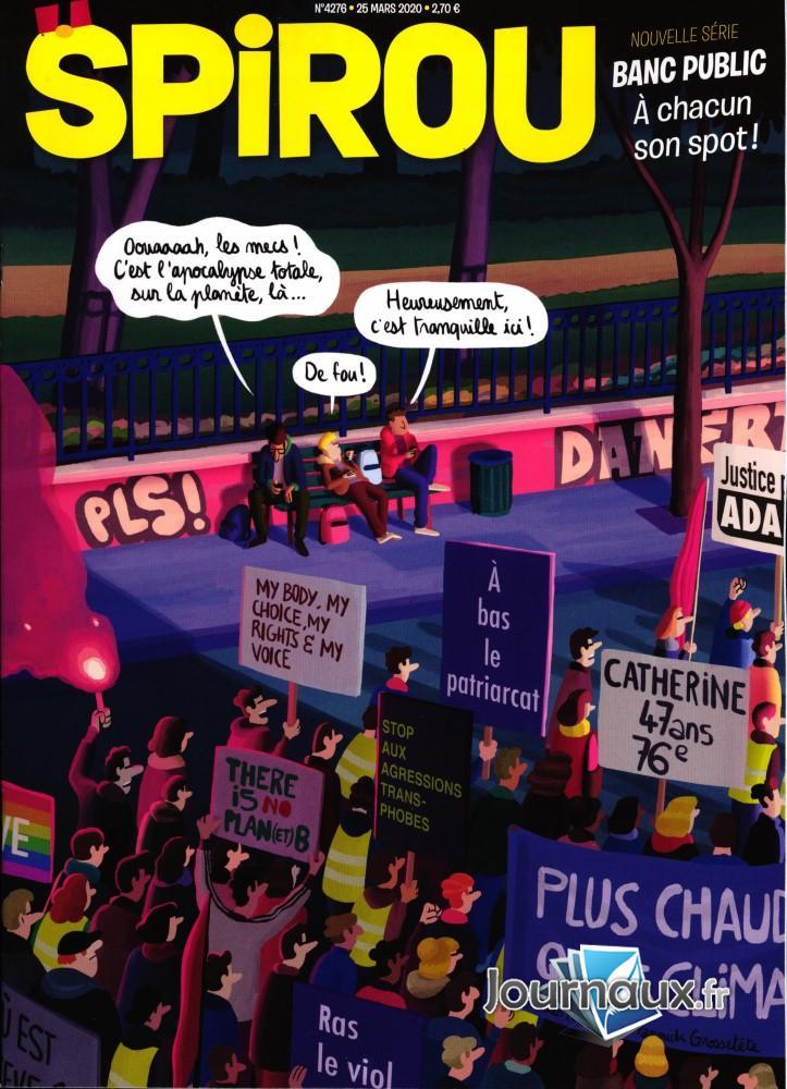 Le journal Spirou N° 4276 Mars 2020