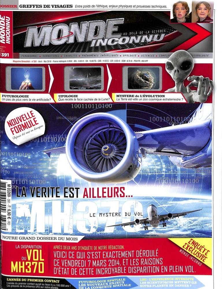 Le Monde de l'Inconnu N° 391 March 2018