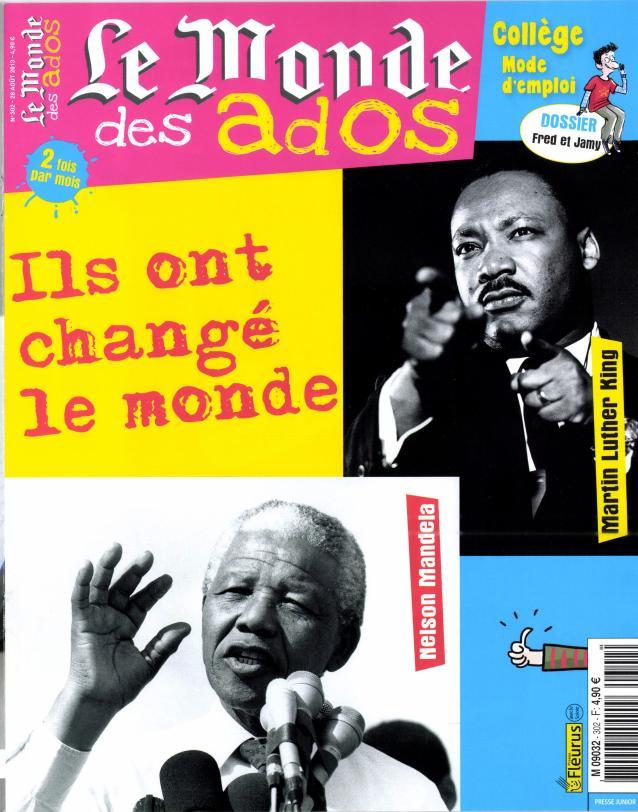Le Monde des Ados N° 443 Janvier 2020