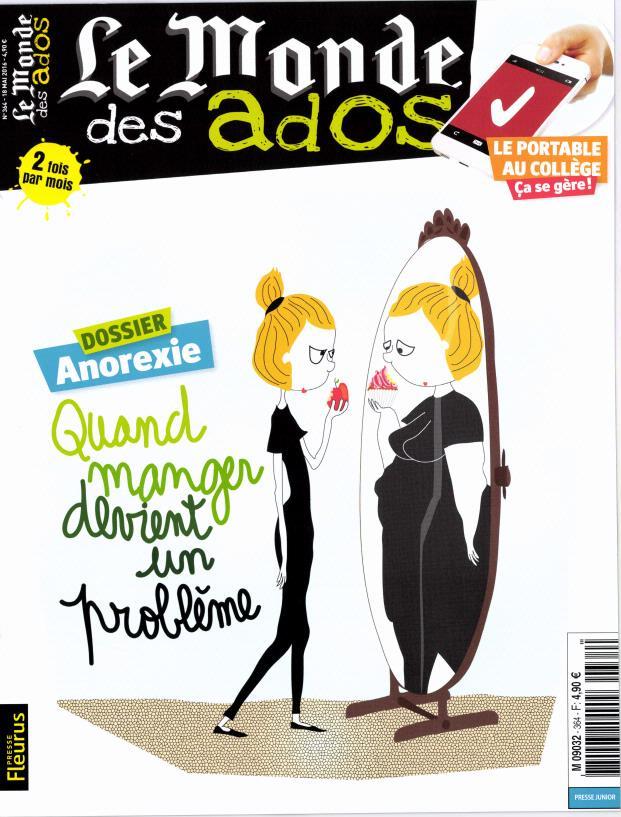 Le Monde des Ados N° 364 Mai 2016