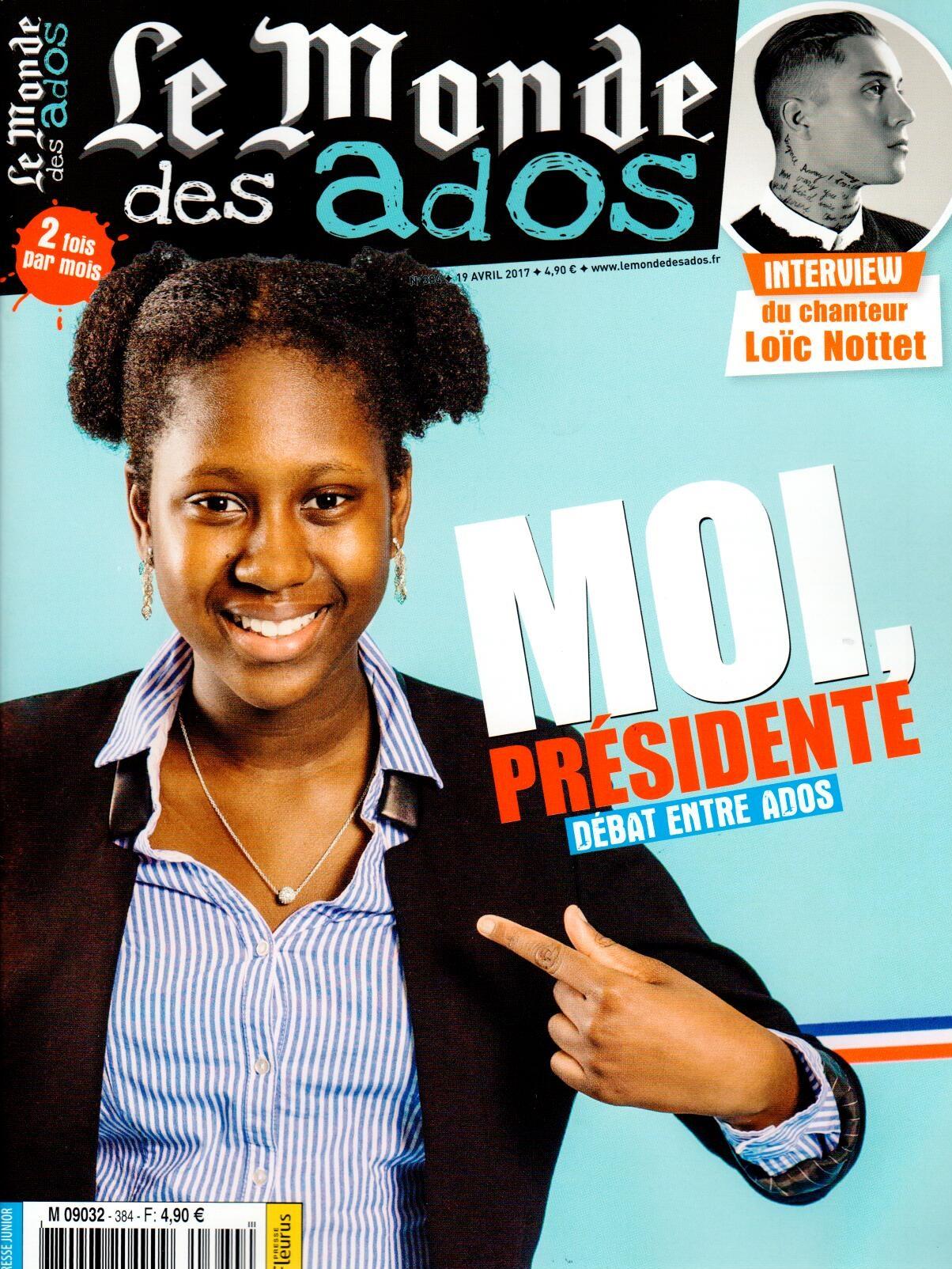 Le Monde des Ados N° 384 Avril 2017