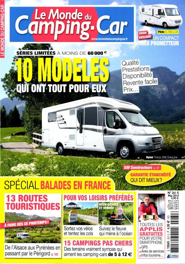 Le monde du Camping-car N° 304 July 2018