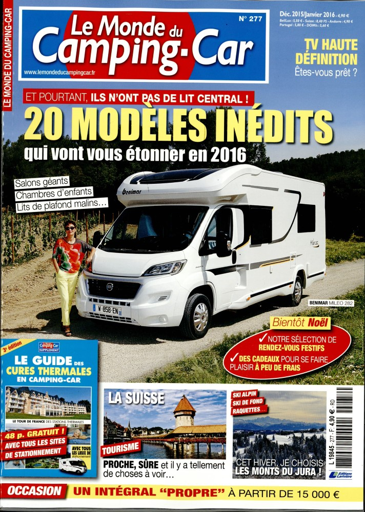 abonnement le monde du camping car presse de france. Black Bedroom Furniture Sets. Home Design Ideas