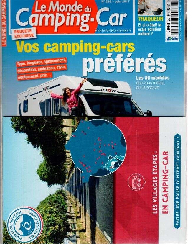 Le monde du Camping-car N° 292 Mai 2017