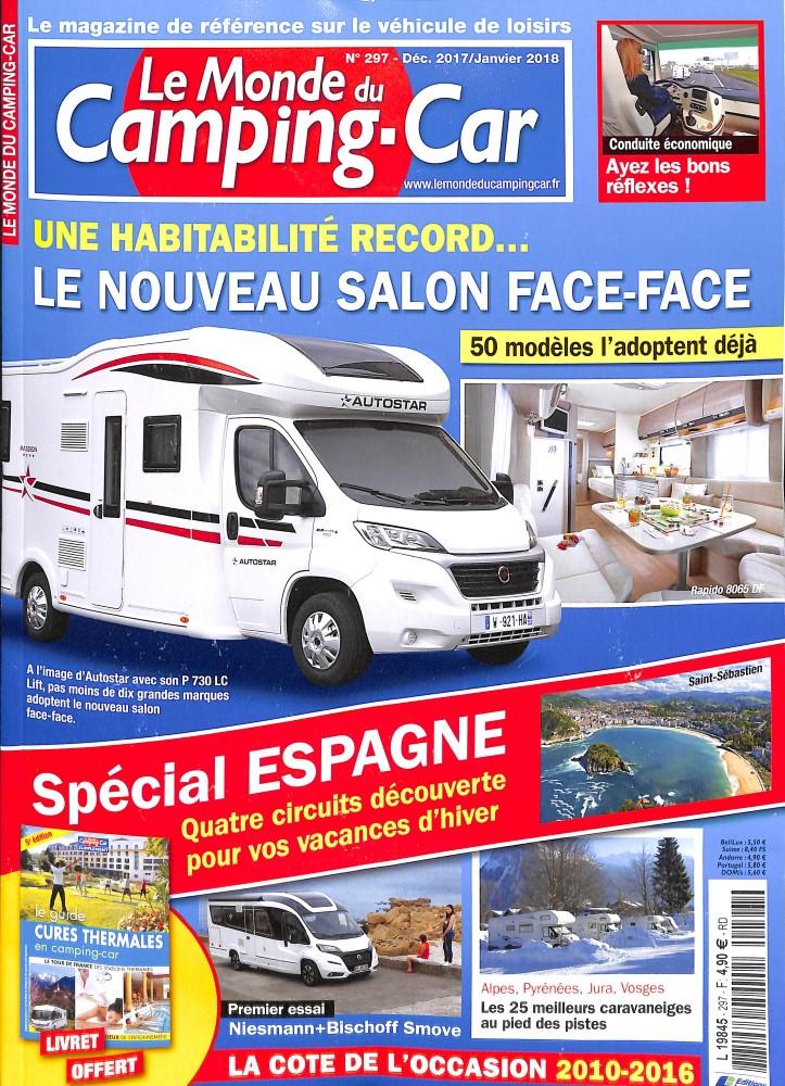 Le monde du Camping-car N° 300 March 2018
