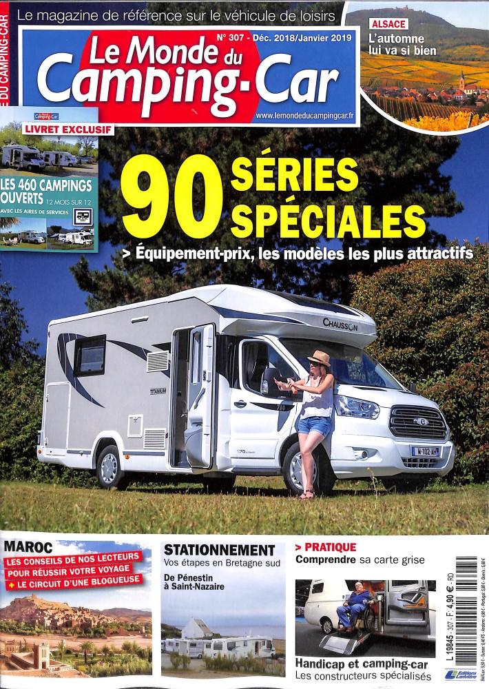 Le monde du Camping-car N° 307 November 2018