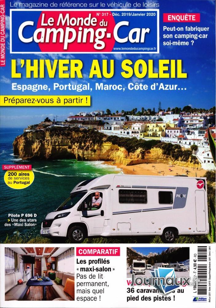 Le monde du Camping-car N° 317 Novembre 2019
