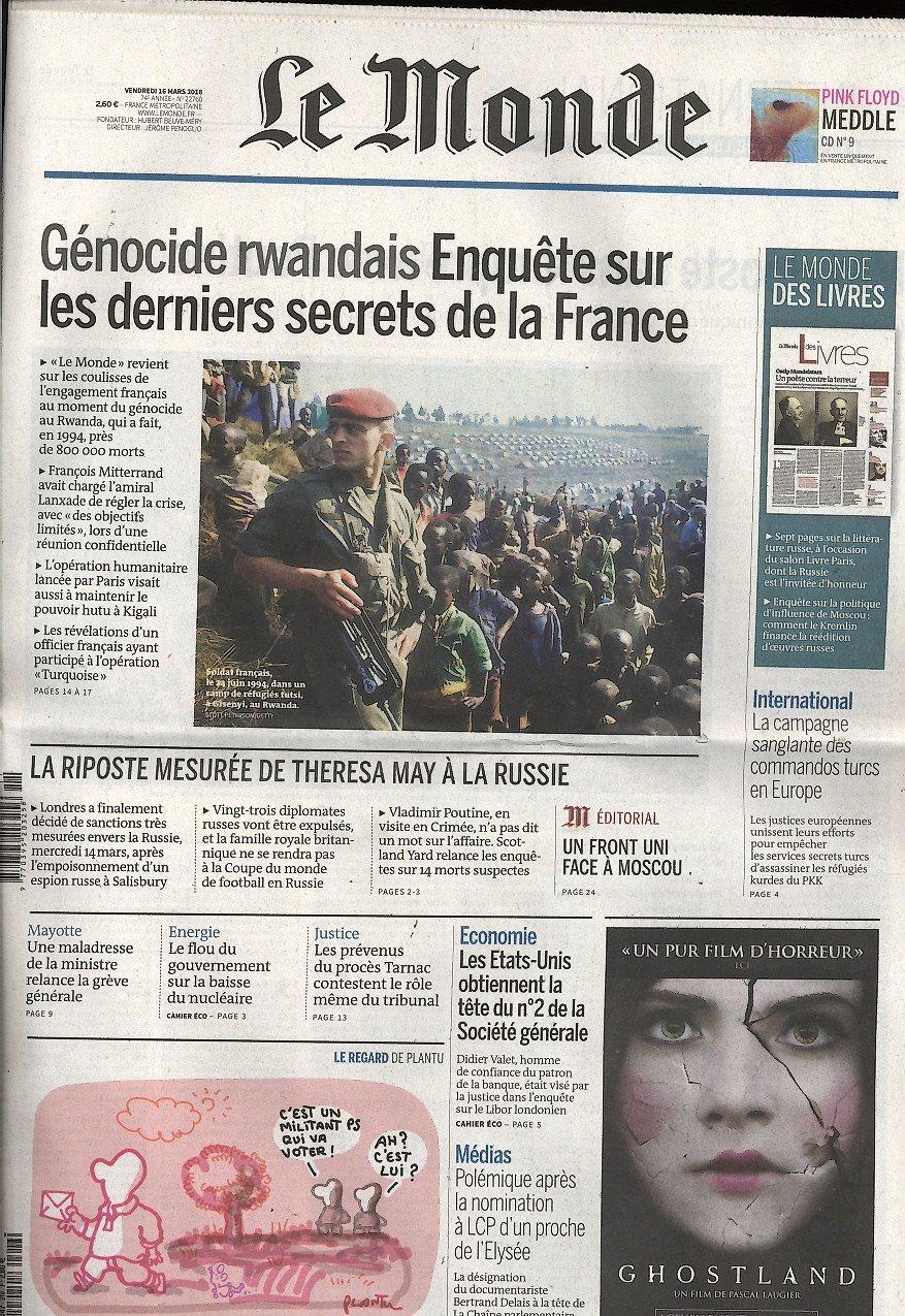 Le Monde N° 310 March 2017