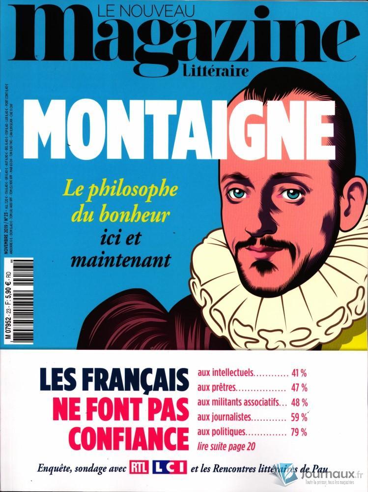 Le nouveau magazine littéraire N° 23 Octobre 2019