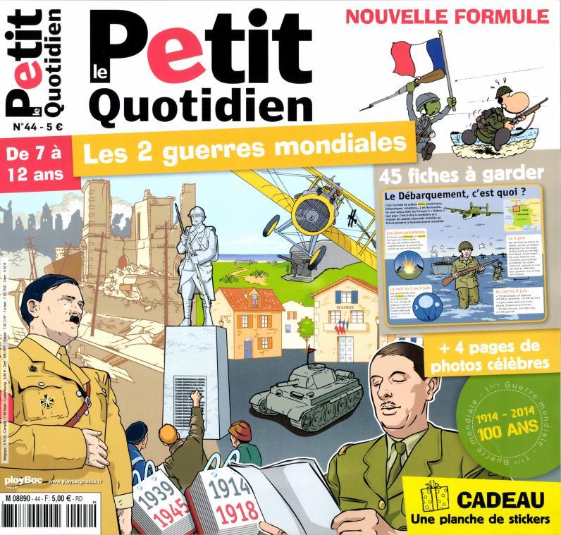 Le Petit Quotidien N° 58 Septembre 2017
