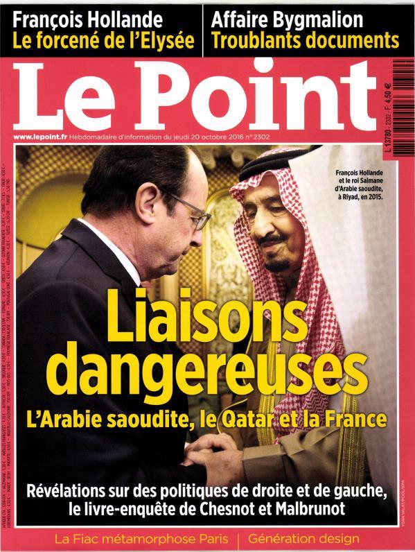 Le Point N° 2302 Octobre 2016