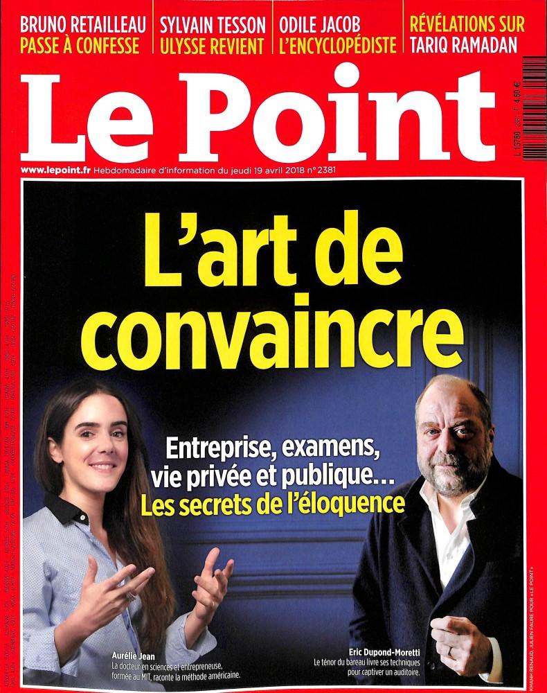 Le Point N° 2381 April 2018
