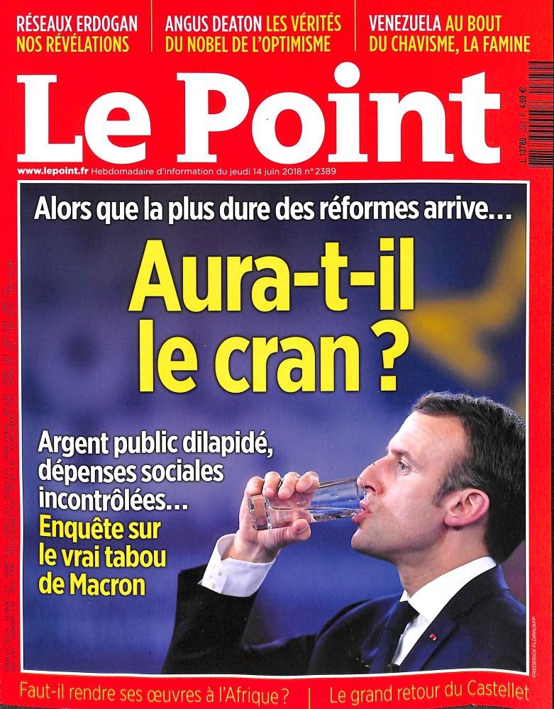 Le Point N° 2389 June 2018