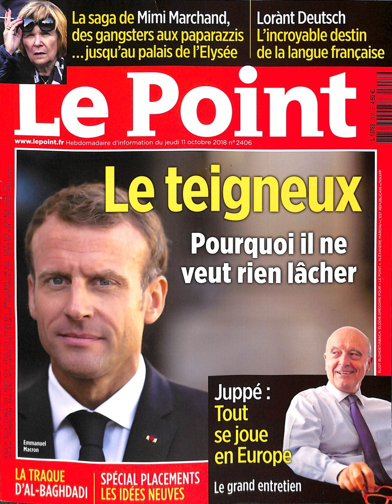 Le Point N° 2406 October 2018