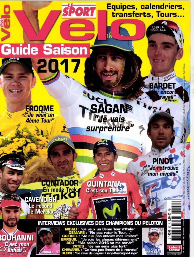 Le Sport N° 3 Novembre 2016