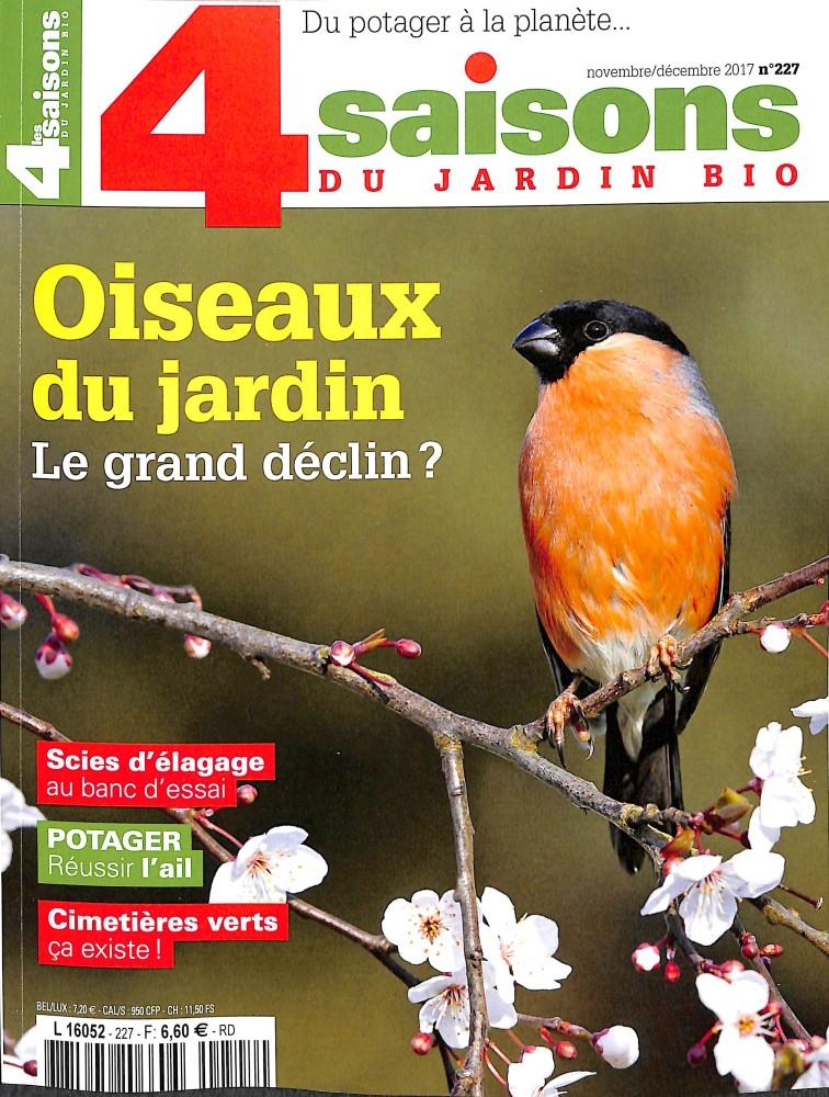 Les 4 saisons du jardin bio n 227 abonnement les 4 saisons du jardin bio abonnement - Les quatre saisons du jardinage ...