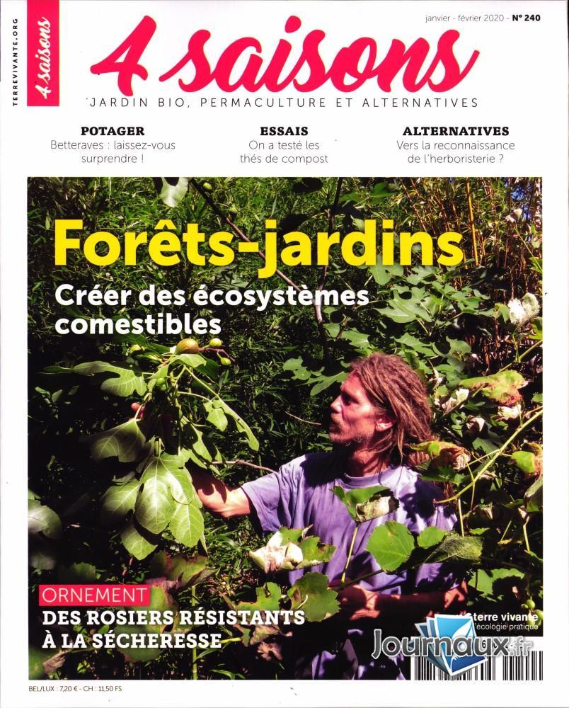 Les 4 Saisons du Jardin Bio  N° 240 Décembre 2019