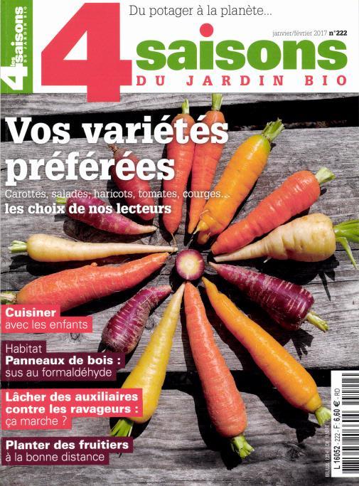 Les 4 saisons du jardin bio N° 195 Juillet 2012