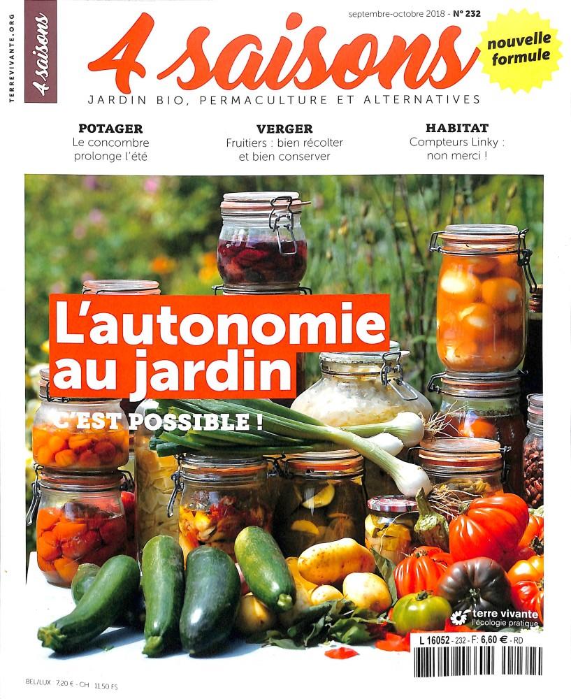 abonnement les 4 saisons du jardin bio toutabo belgique. Black Bedroom Furniture Sets. Home Design Ideas