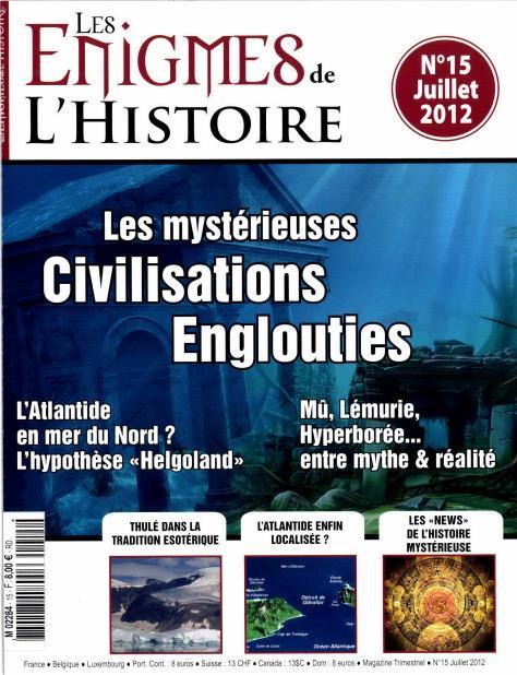 Les grandes énigmes de l'Histoire N° 39 Juin 2018