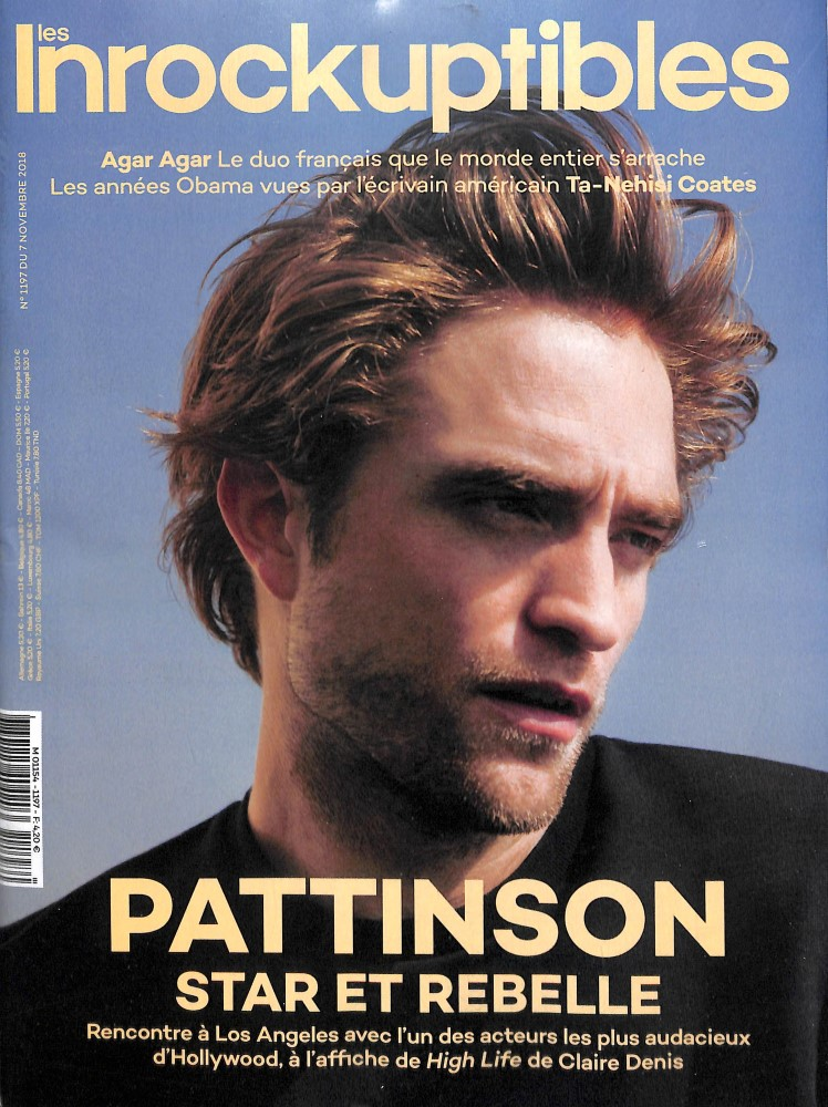 Les Inrockuptibles N° 1197 November 2018