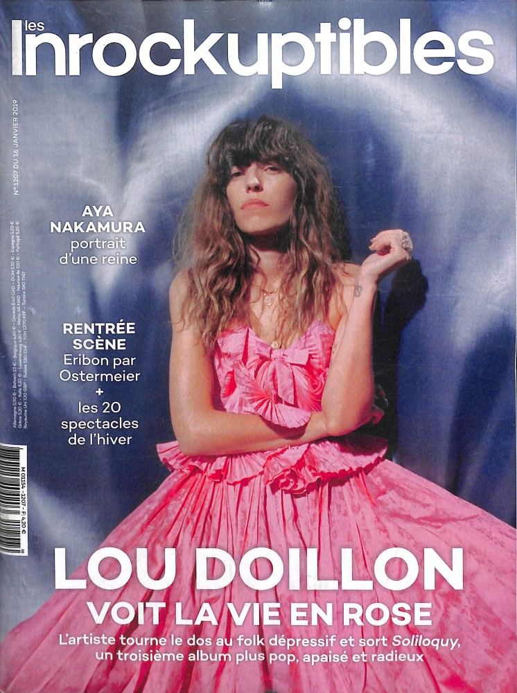 Les Inrockuptibles N° 1207 Janvier 2019