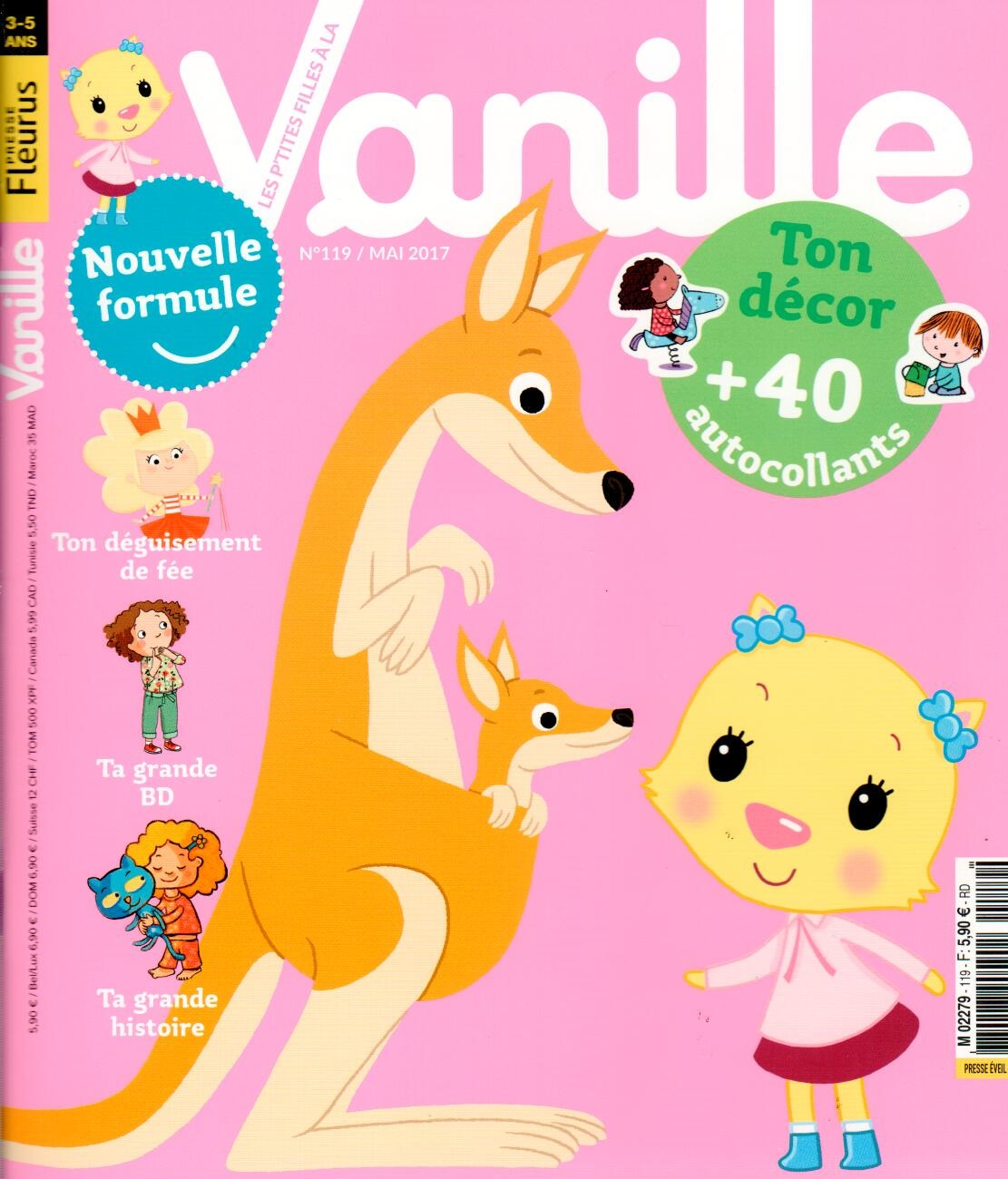 Les P'tites filles à la vanille N° 119 Avril 2017
