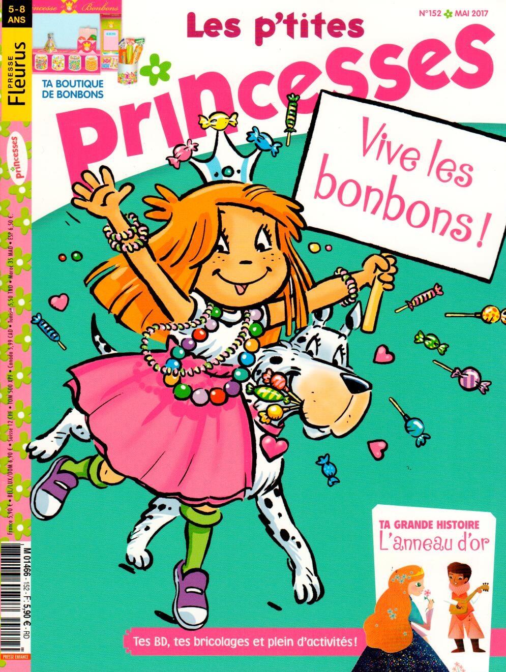 les p 39 tites princesses n 152 abonnement les p 39 tites. Black Bedroom Furniture Sets. Home Design Ideas