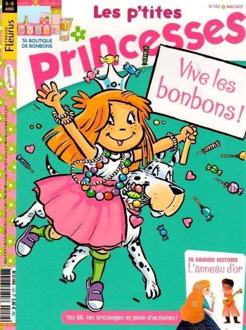 Les p'tites Princesses N° 152 Avril 2017