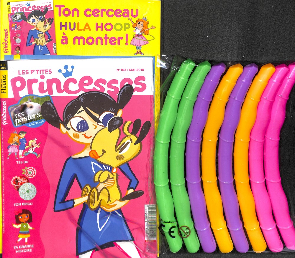 Les p'tites Princesses N° 163 April 2018