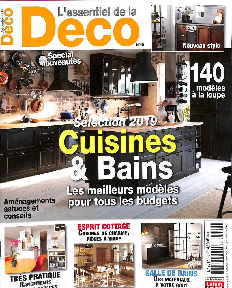 L'essentiel de la Déco N° 45 October 2018