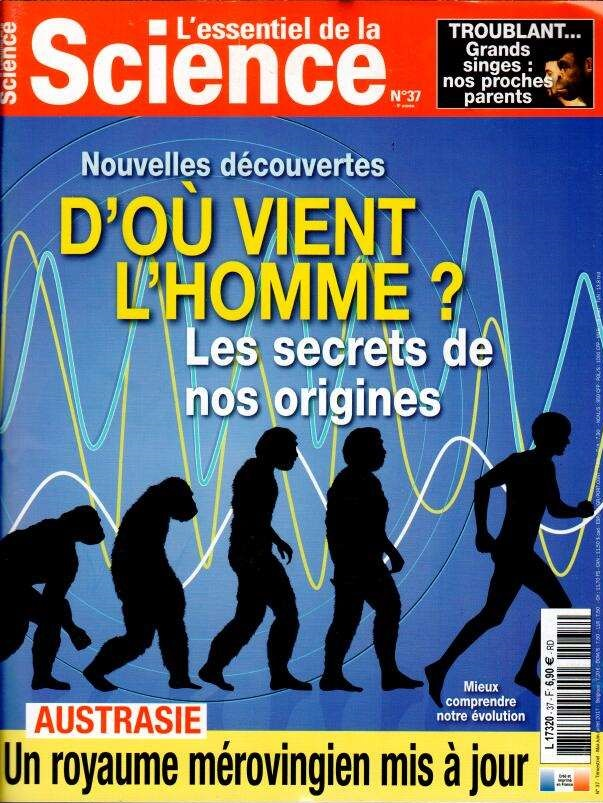 L'essentiel de la Science N° 37 Mai 2017