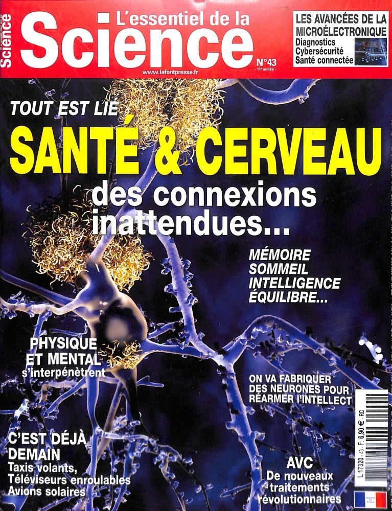 L'essentiel de la Science N° 43 November 2018