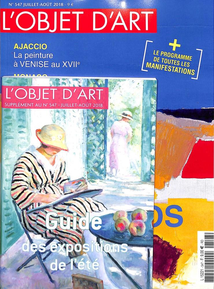 L'Estampille - l'Objet d'Art N° 547 July 2018