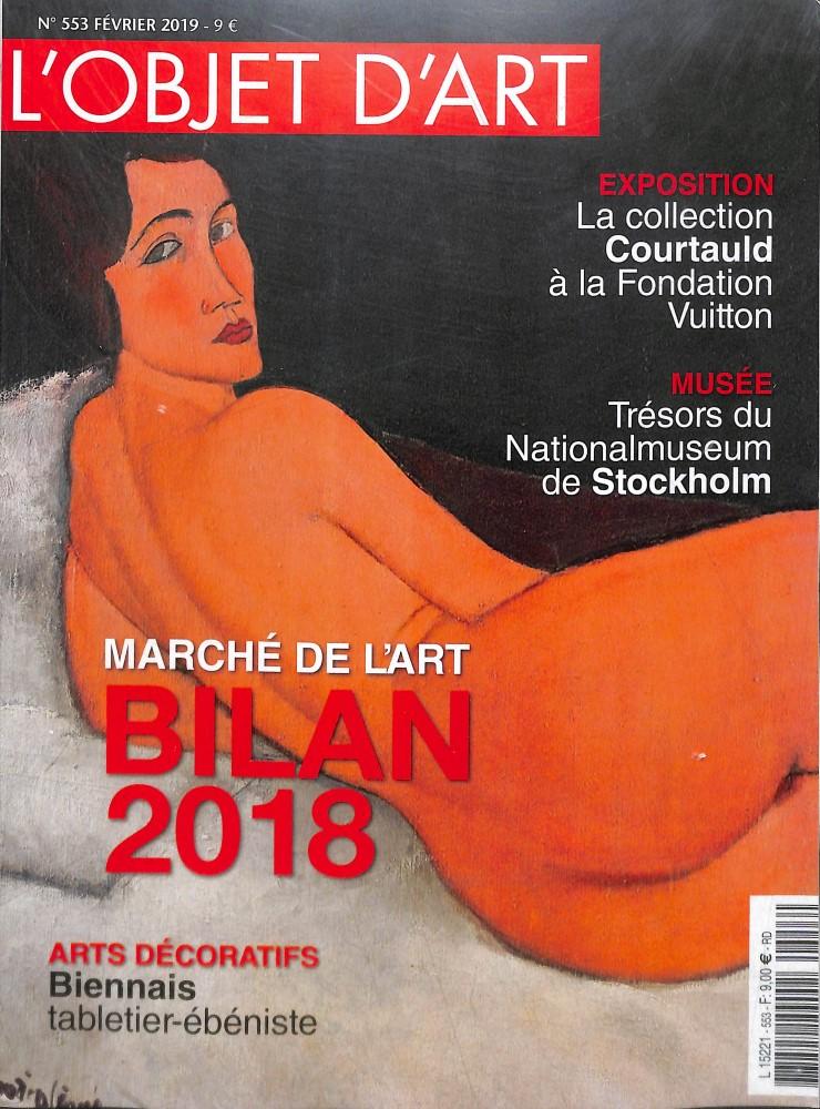 L'Estampille - l'Objet d'Art N° 553 Février 2019