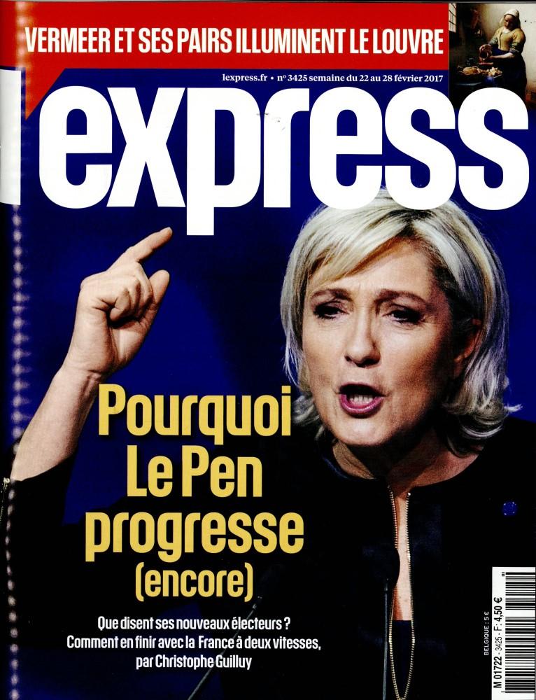 L'Express N° 3425 Février 2017