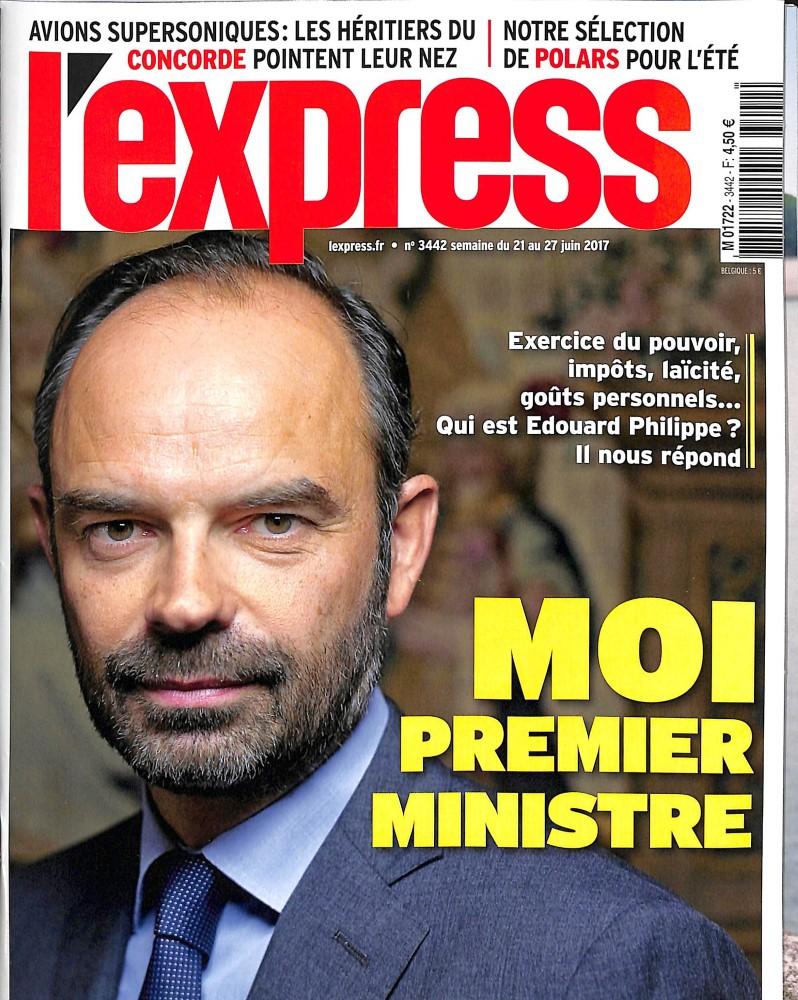 L'Express N° 3442 Juin 2017