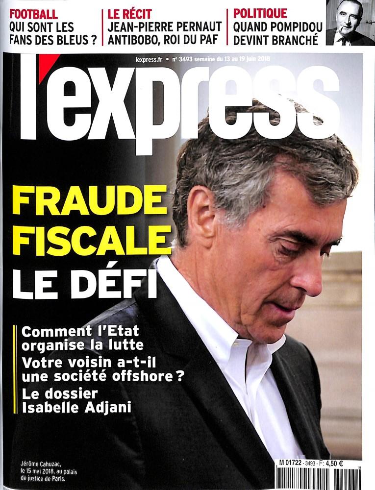 L'Express N° 3493 June 2018