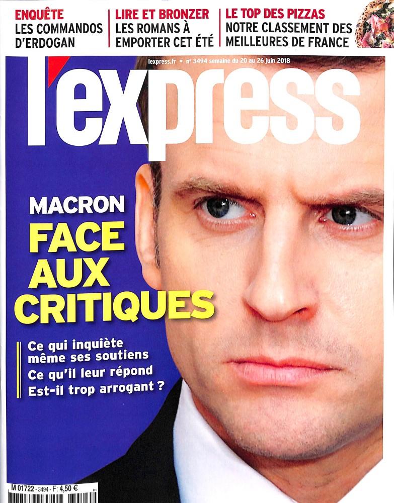 L'Express N° 3494 June 2018
