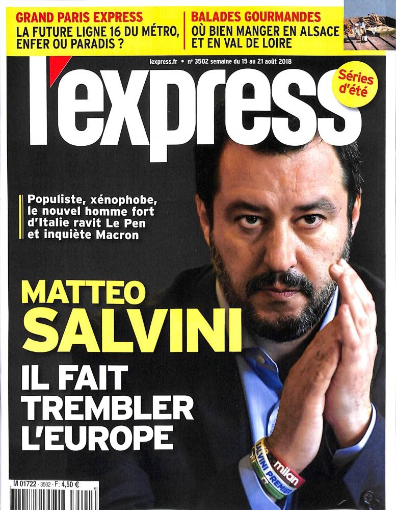 L'Express N° 3502 August 2018