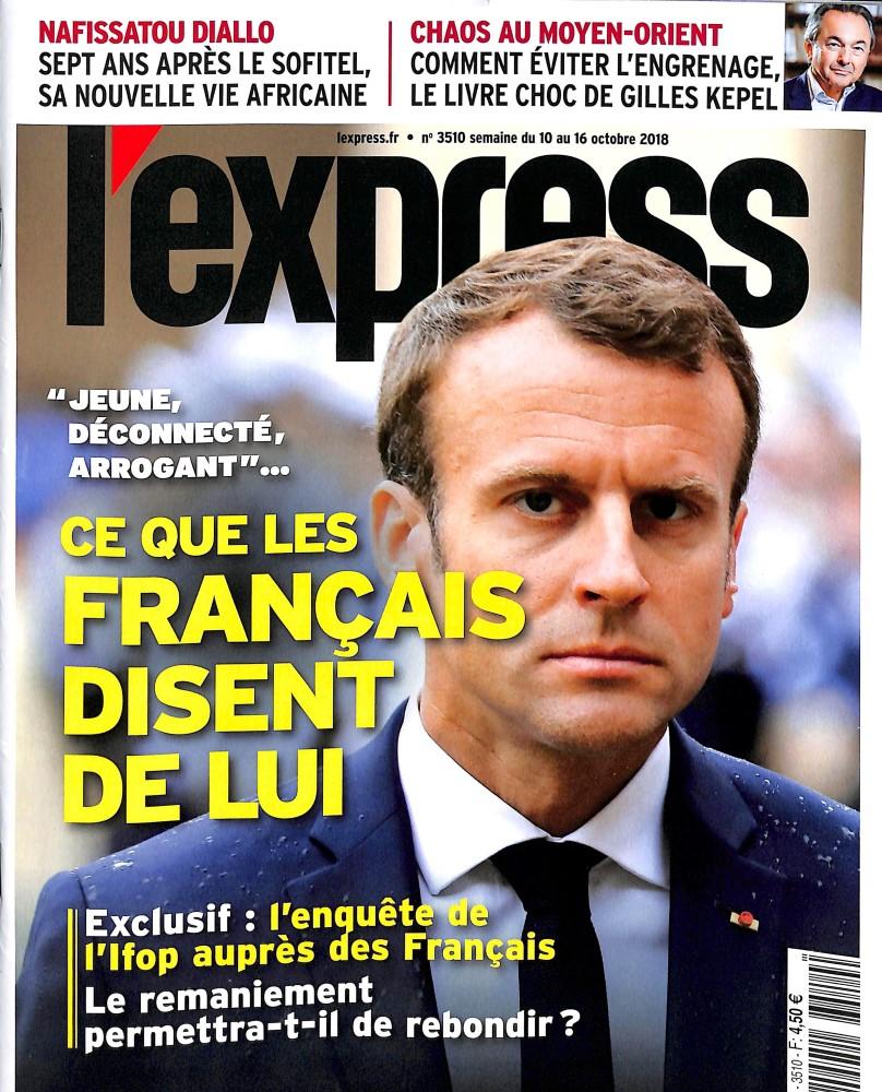 L'Express N° 3510 October 2018