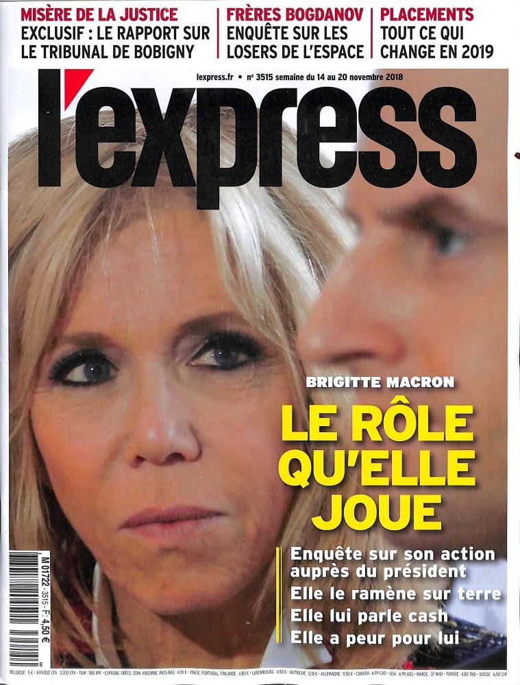 L'Express N° 3515 November 2018