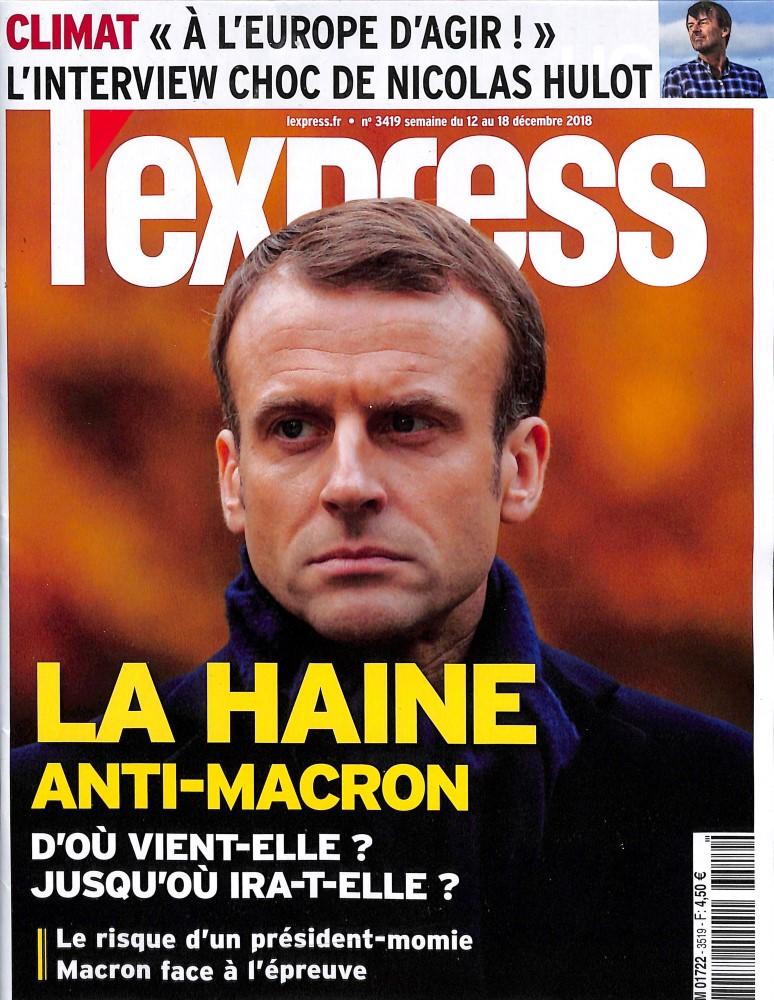 L'Express N° 3519 December 2018