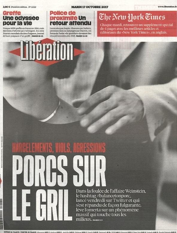 Libération N° 1017 Octobre 2017