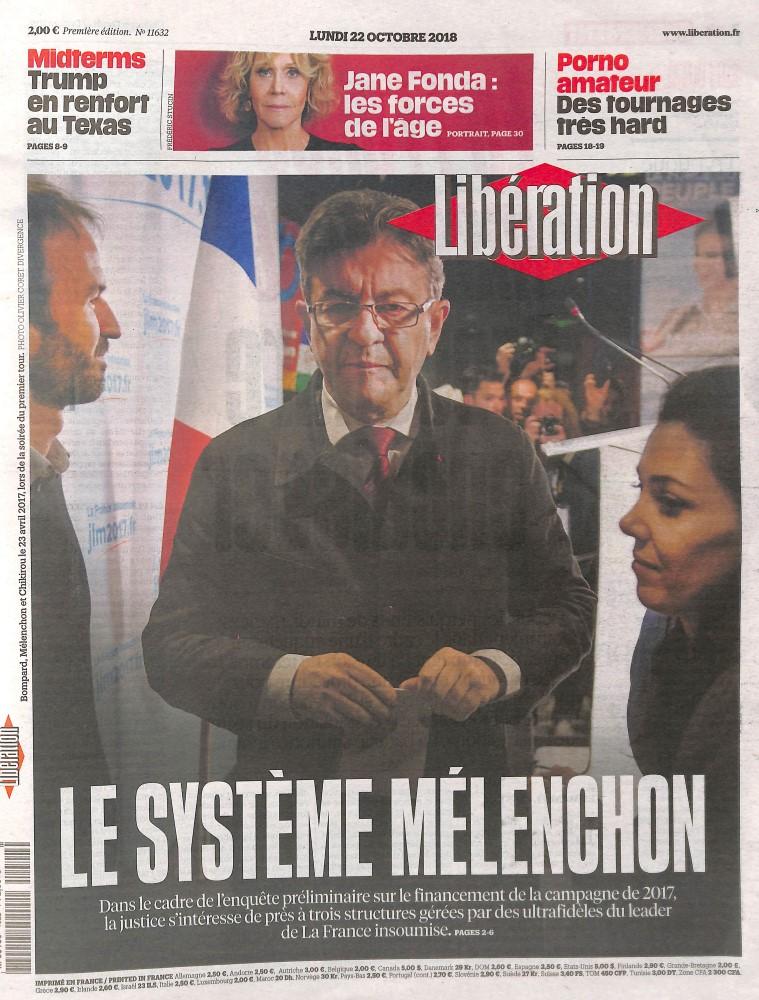 Libération N° 1022 October 2018