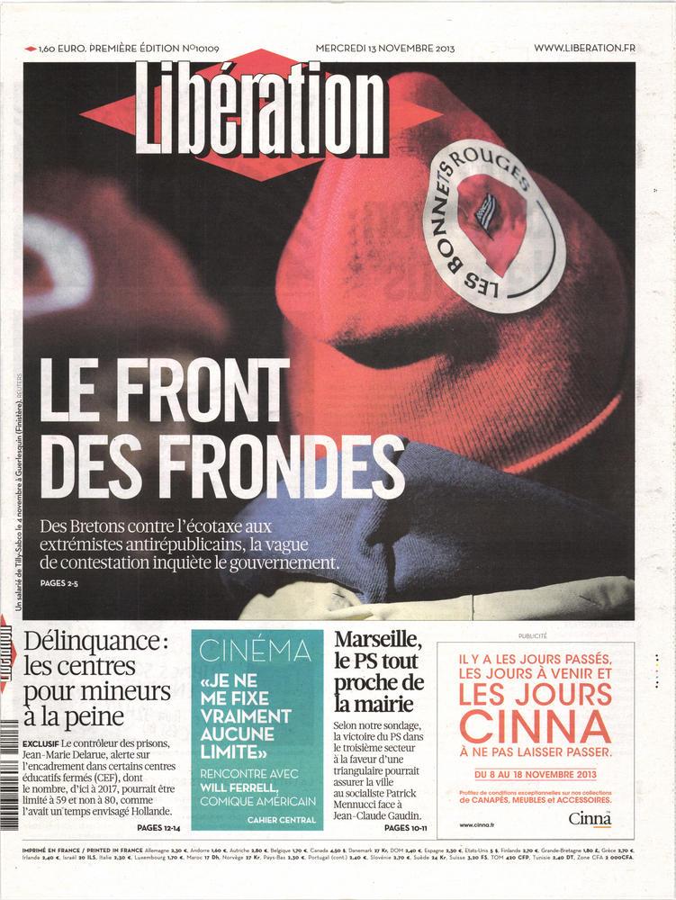 Libération N° 718 July 2018
