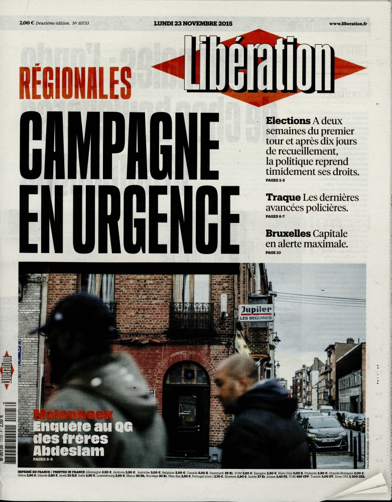 Libération N° 419 April 2018