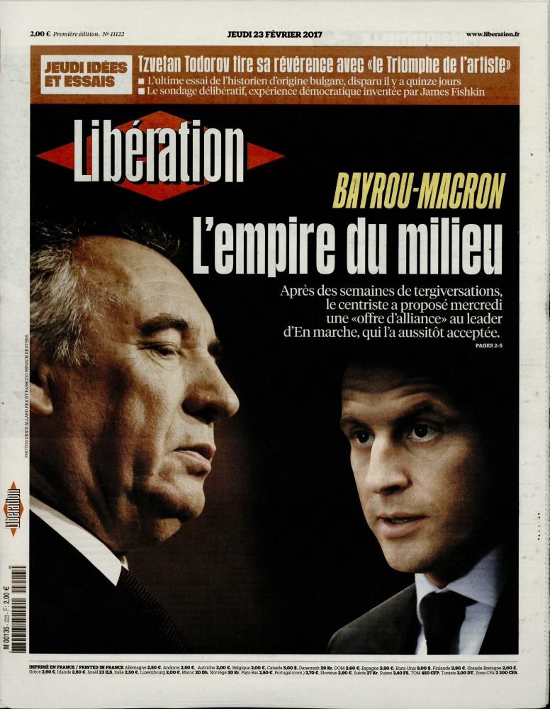 Libération N° 223 Février 2017