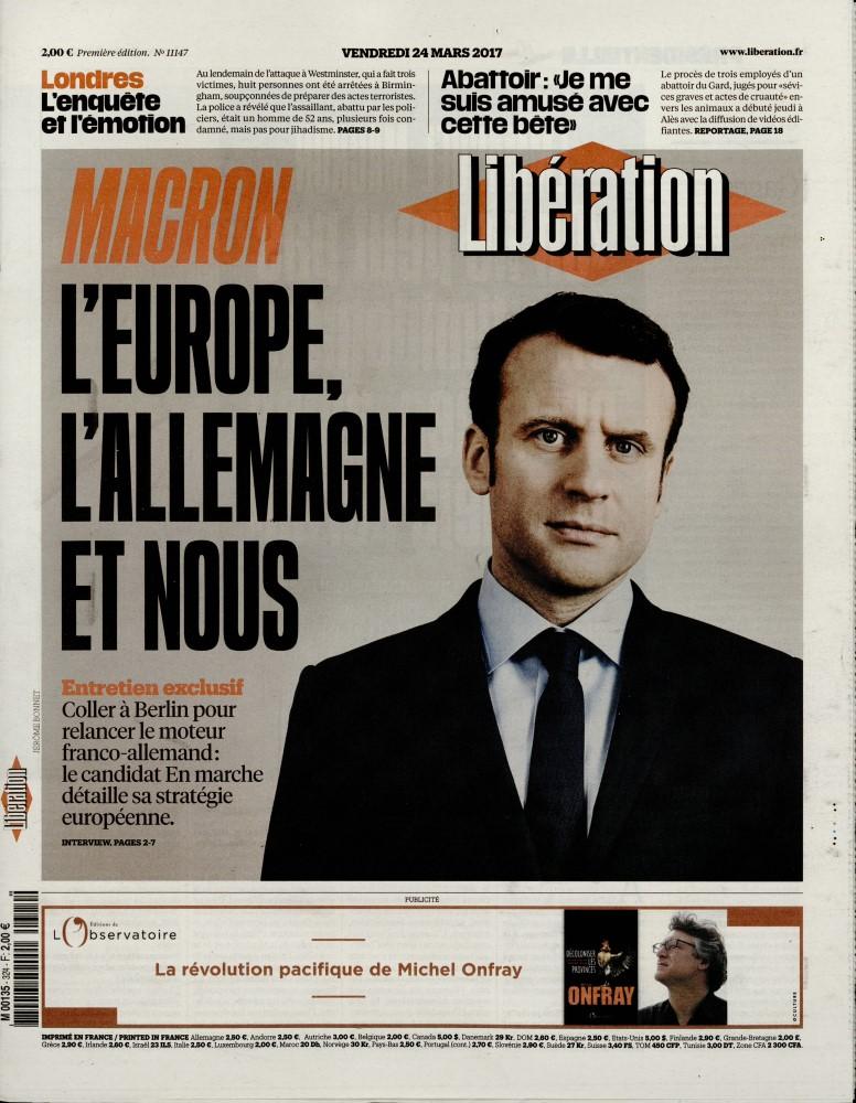 Libération N° 324 Mars 2017